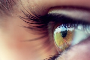eyeball green field