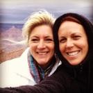 Deb & me at the Grand Canyon