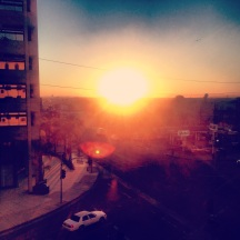 First LA sunrise